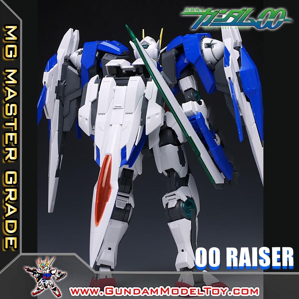 MG 1/100 GUNDAM 00 RAISER ดับเบิ้ล โอ ไรเซอร์ กันดั้ม