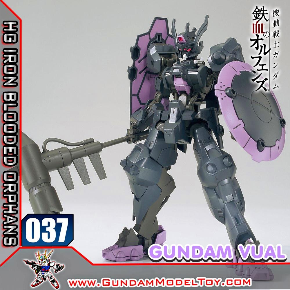 HG 1/144 037 GUNDAM VUAL