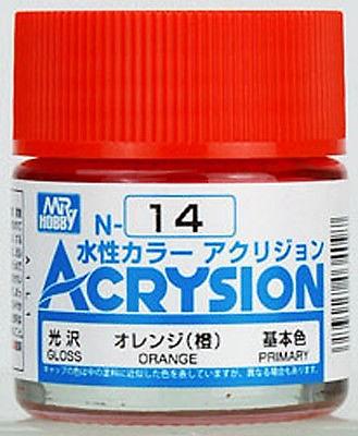 ACRYSION N14 GLOSS ORANGE สีส้มเงา