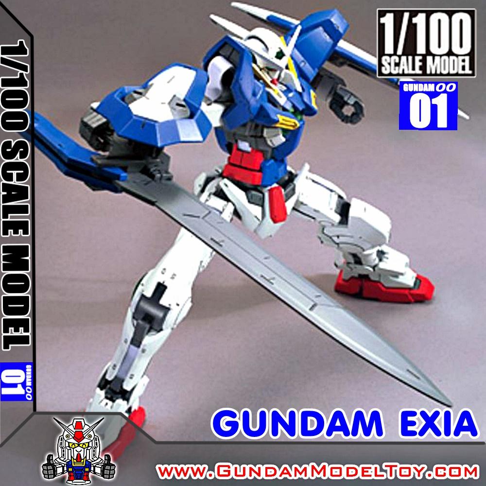 1/100 SCALE MODEL GUNDAM EXIA กันดั้ม เอ็กซ์เซีย