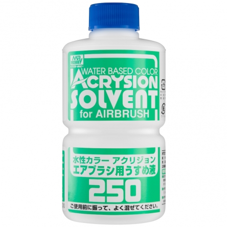 ACRYSION T314 SOLVENT AIRBRUSH THINNER ตัวทำละลายสีสูตรน้ำ ACRYSION