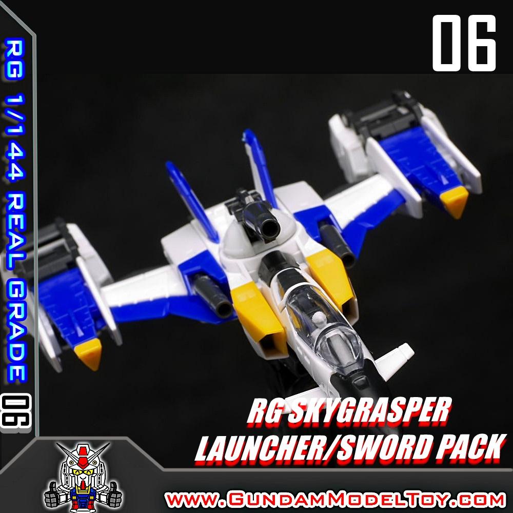 RG 1/144 SKYGRASPER LAUNCHER/SWORD PACK สกายแกรสเปอร์ ลอนช์เชอร์/สวอด แพ็ค