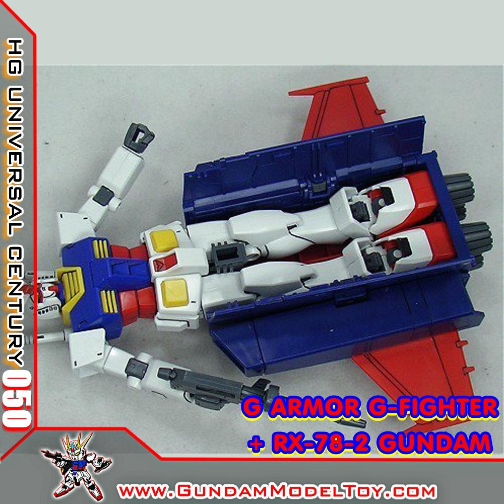 HG 1/144 G ARMOR G-FIGHTER + RX-78-2 GUNDAM