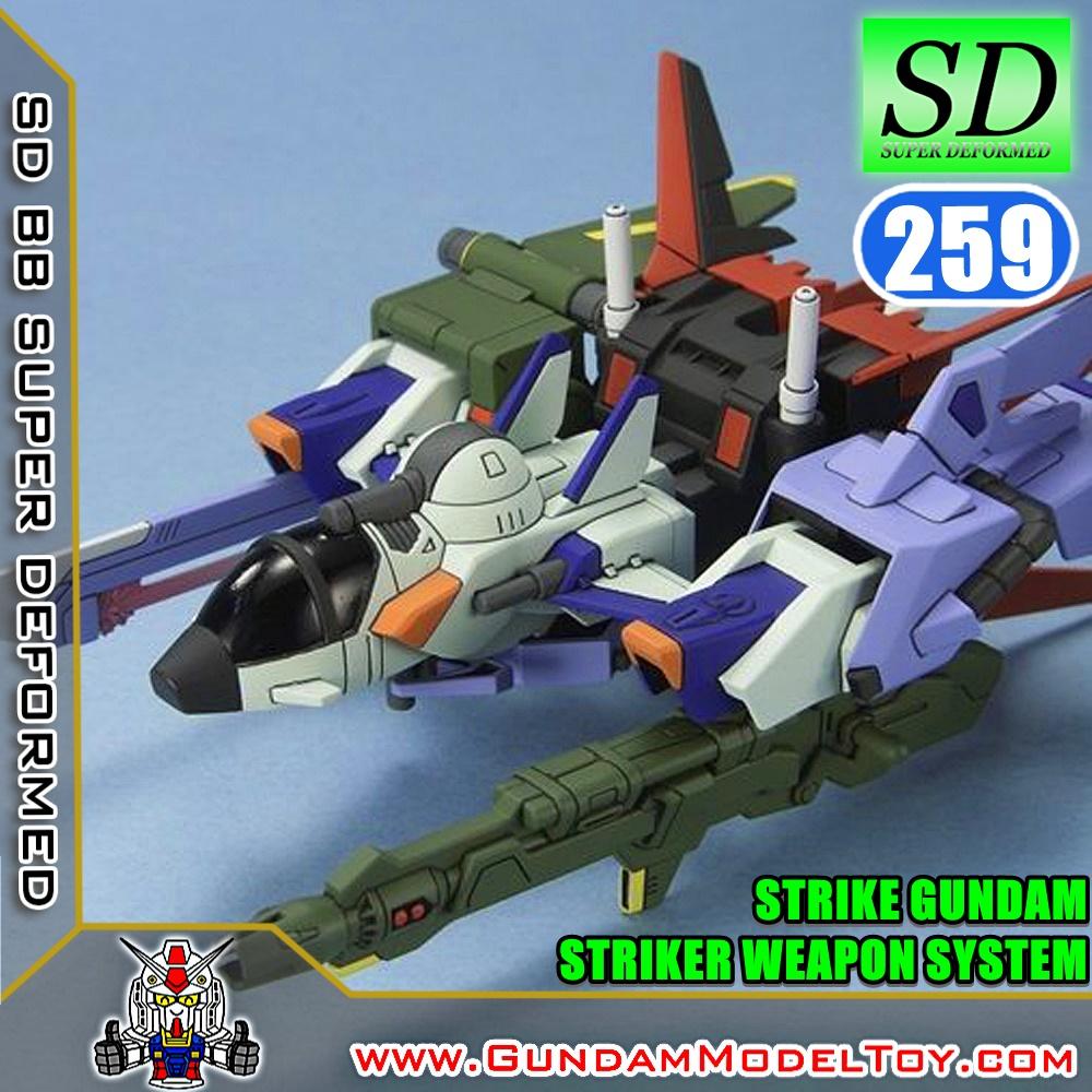 SD BB259 STRIKE GUNDAM STRIKER WEAPON SYSTEM