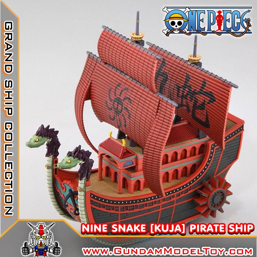 GRAND SHIP COLLECTION NINE SNAKE [KUJA] PIRATE SHIP ไนน์ สเนค ไพเรท ชิพ