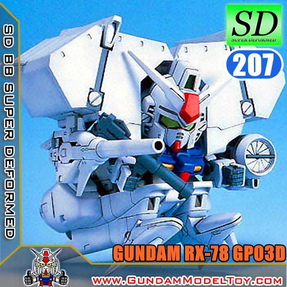 SD BB207 GUNDAM GP03D กันดั้ม GP03D