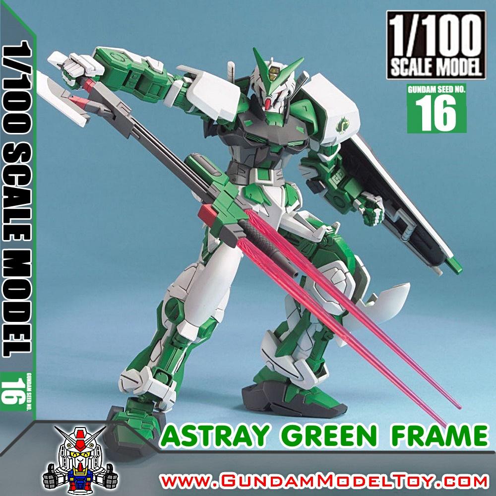 1/100 SCALE MODEL GUNDAM ASTRAY GREEN FRAME กันดั้ม แอสเทรย์ กรีน เฟรม