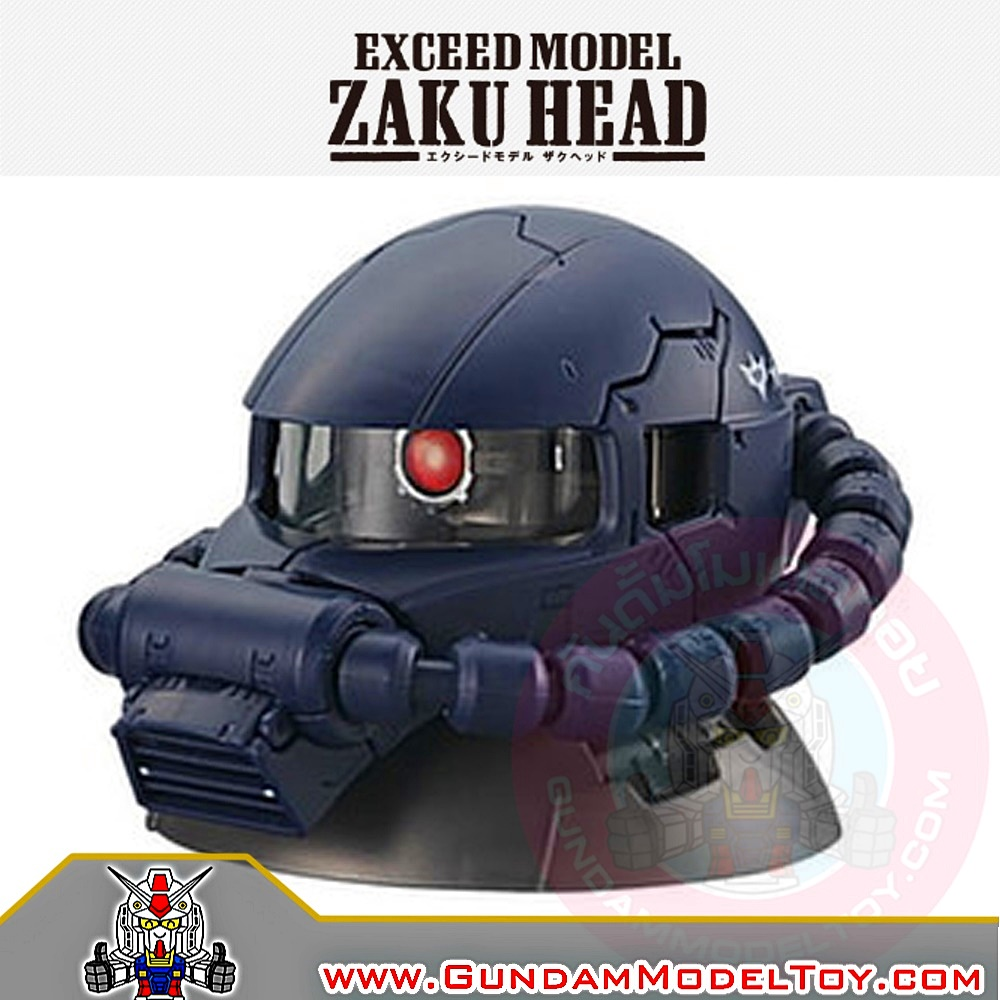 GACHAPON EXCEED MODEL MS-06R-1A ZAKU HEAD กาชาปองซาคุ สีน้ำเงิน