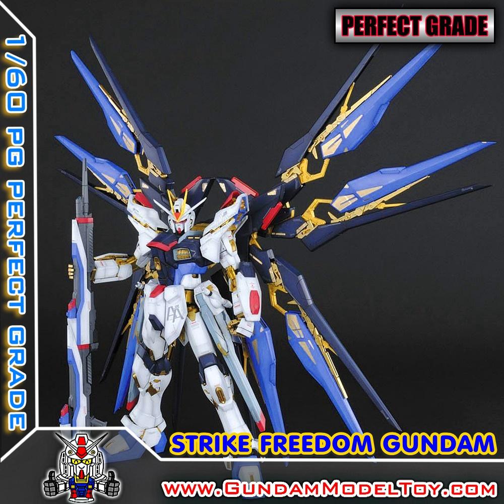 PG 1/60 STRIKE FREEDOM GUNDAM สไตรค์ ฟรีดอม กันดั้ม