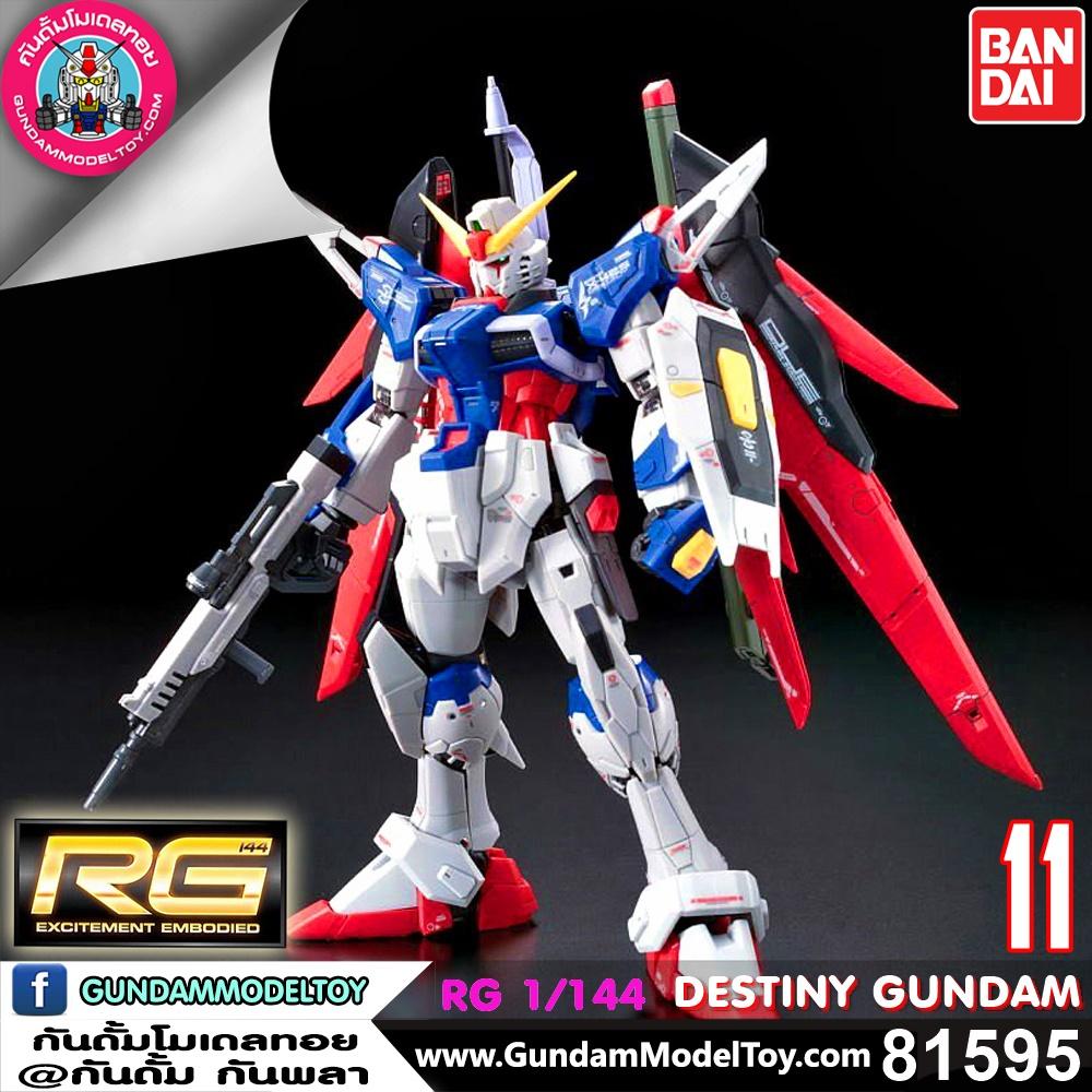 RG 1/144 DESTINY GUNDAM เดสทินี่ กันดั้ม