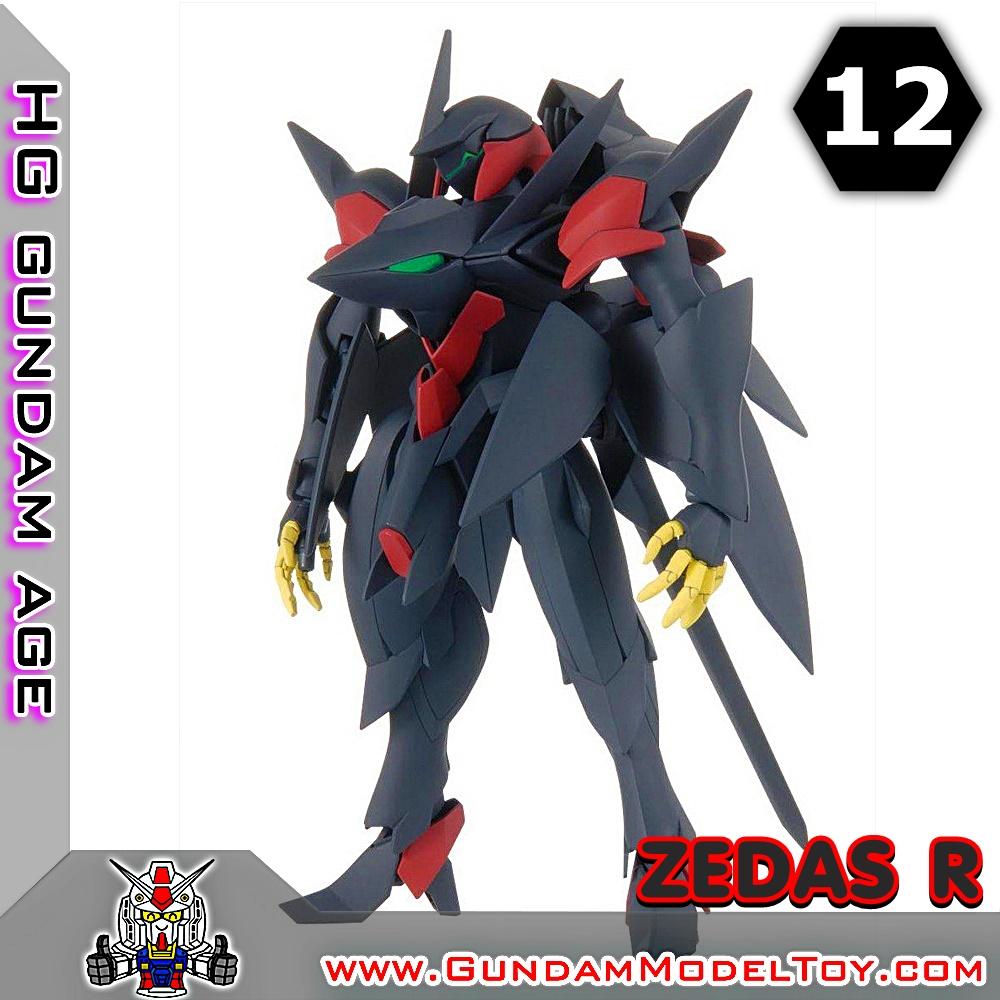 HG 1/144 ZEDAS R เซดาส อาร์