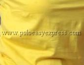 เสื้อยืดเด็ก สีเหลือง คอวี แขนสั้น Size M
