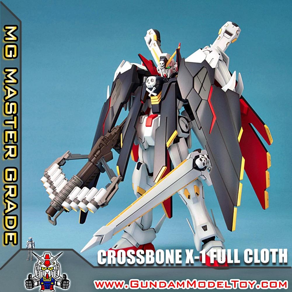 MG 1/100 CROSSBONE GUNDAM X-1 FULL CLOTH ครอสโบน กันดั้ม เอ็กซ์วัน ฟูล โคลธ