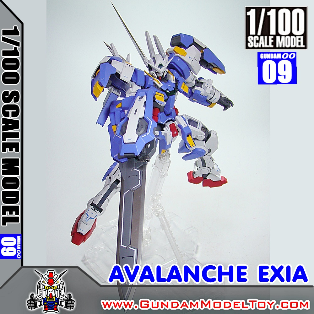 1/100 SCALE MODEL GUNDAM AVALANCHE EXIA กันดั้ม อวาแลนช์ เอ็กซ์เซีย