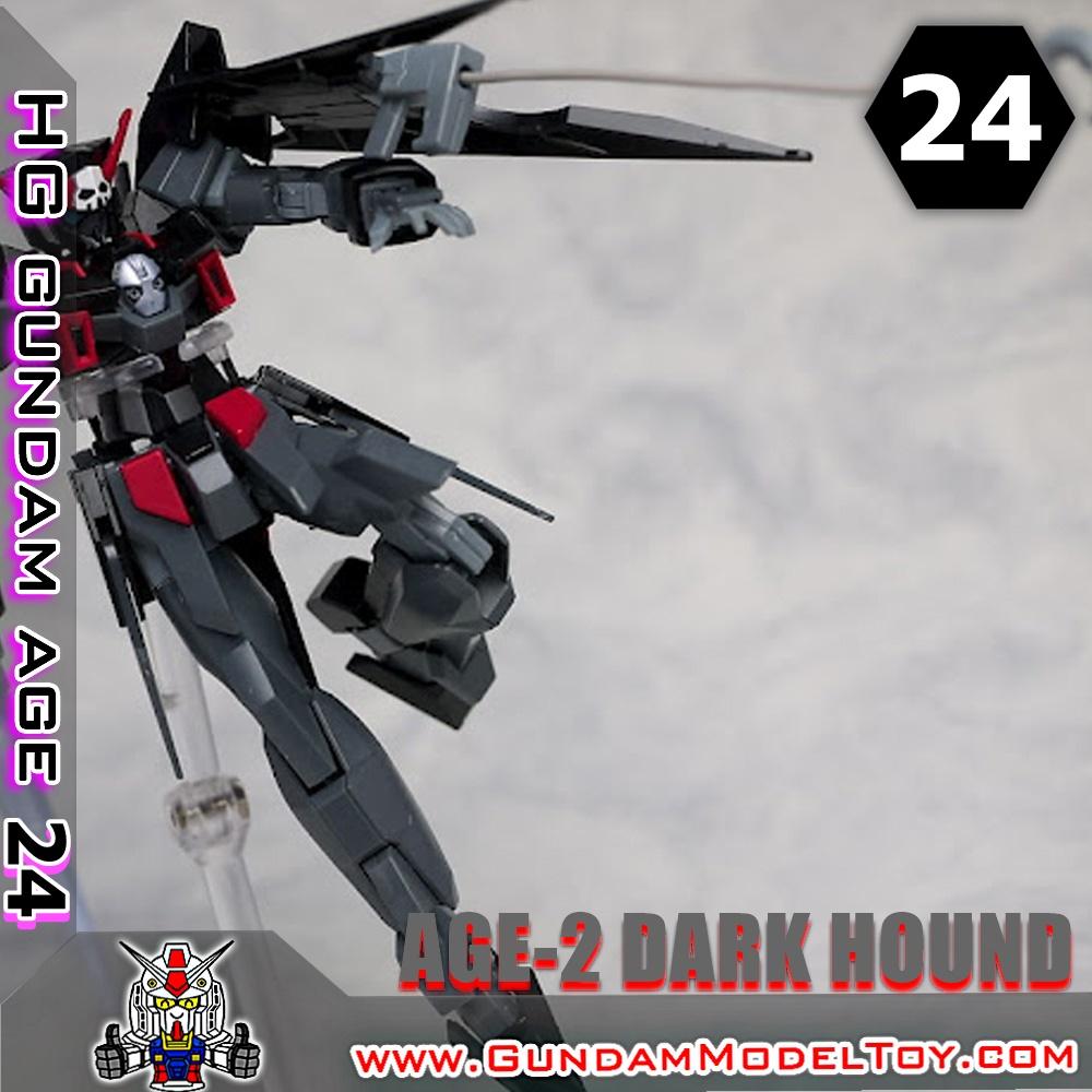 HGAGE 1/144 GUNDAM AGE-2 DARK HOUND กันดั้ม เอจ ทู ดาร์ค ฮาวนด์