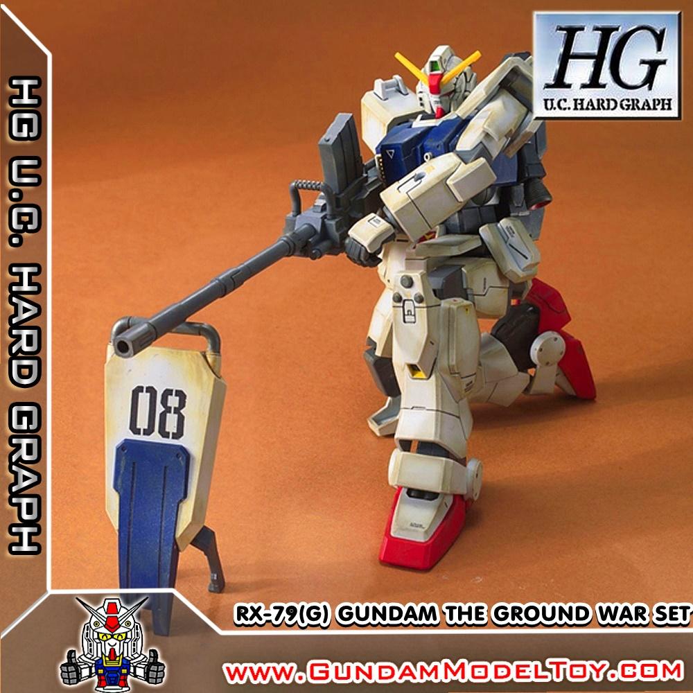 HG 1/144 RX-79(G) GUNDAM THE GROUND WAR SET