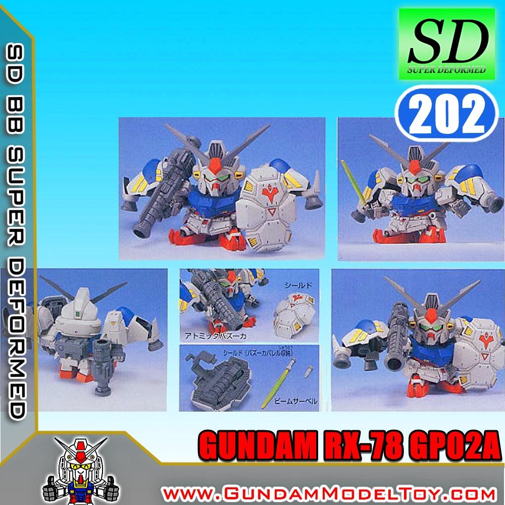 SD BB202 GUNDAM GP02A กันดั้ม GP02A