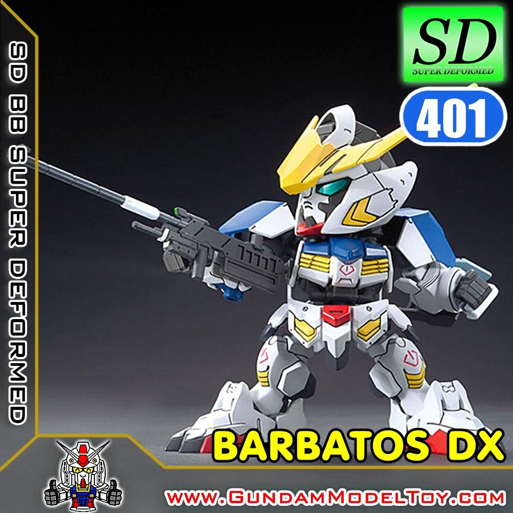 SD BB401 GUNDAM BARBATOS DX กันดั้ม บาร์บาทอส DX