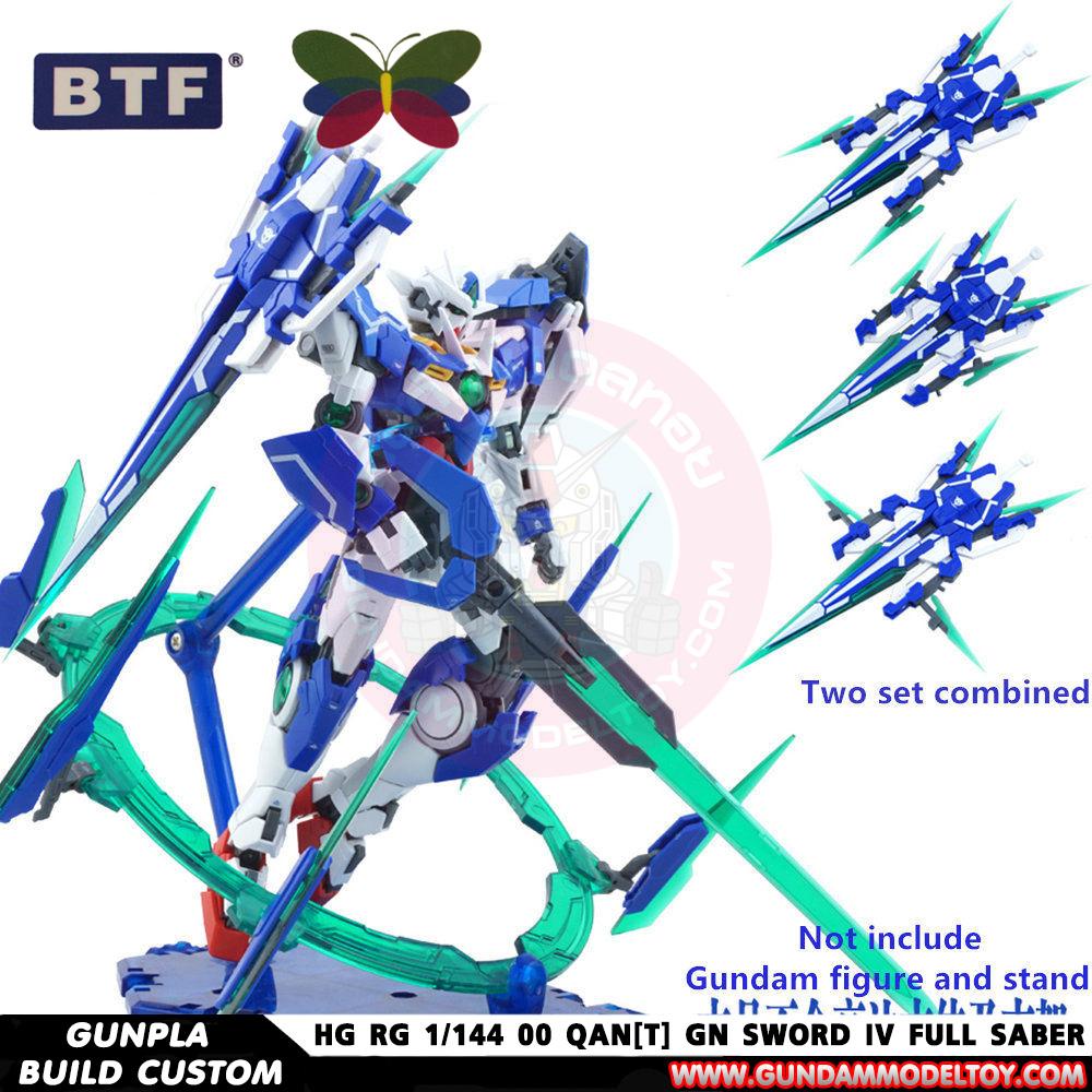 HG RG 1/144 00 QAN[T] GN SWORD IV FULL SABER ชุดแต่ง HG RG 1/144 ดับเบิ้ลโอ ควอนต้า