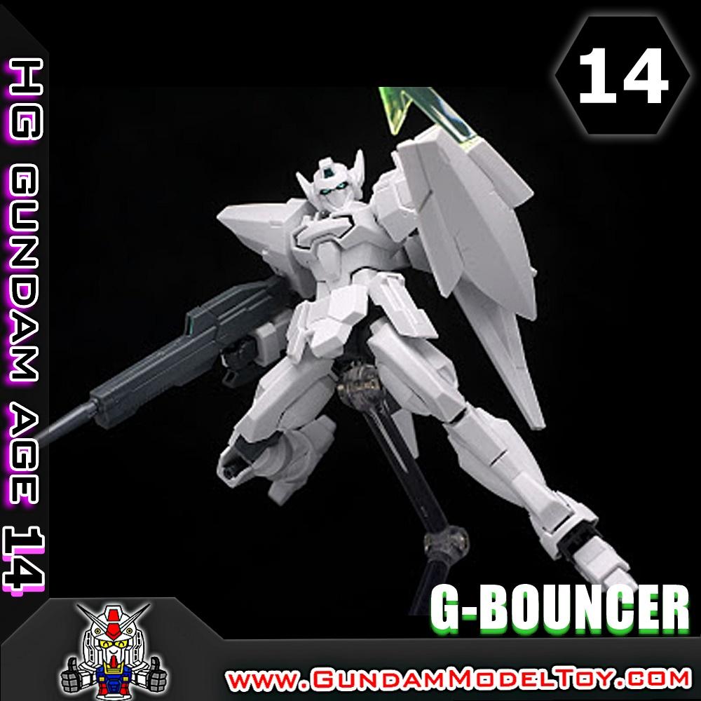 HGAGE 1/144 G-BOUNCER จี-เบาวซ์เซอร์