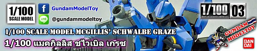 1/100 SCALE MODEL 03 McGILLIS' S SCHWALBE GRAZE แมคกิลลิส ชไวเบิล เกรซ