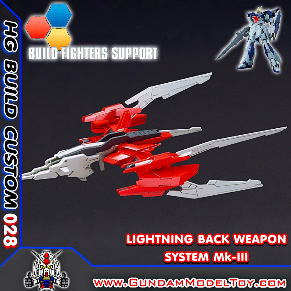 HG 1/144 LIGHTNING BACK WP SYSTEM Mk-III พาร์ทเสริมไลท์นิ่ง กันดั้ม Mk-III