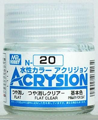 ACRYSION N20 FLAT CLEAR สีเคลียร์ด้าน