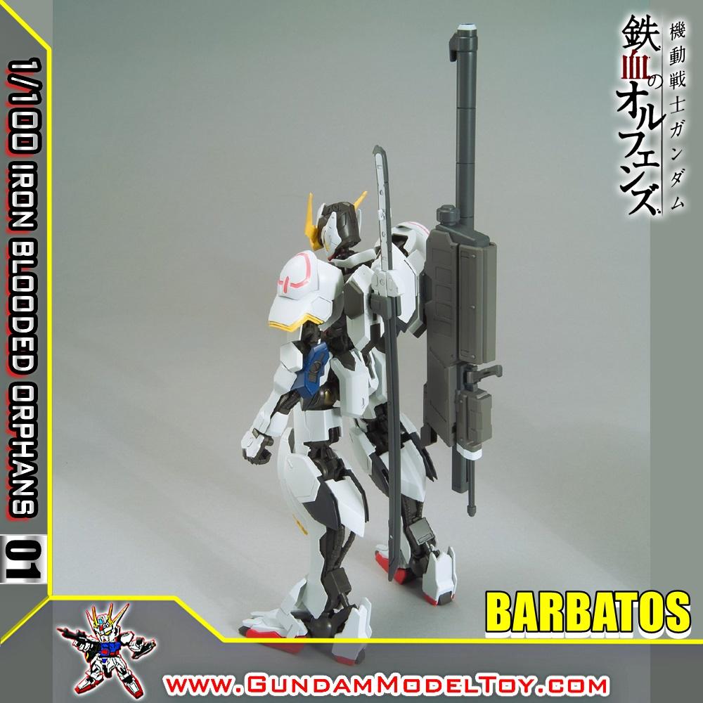 1/100 SCALE MODEL 01 GUNDAM BARBATOS กันดั้ม บาร์บาทอส