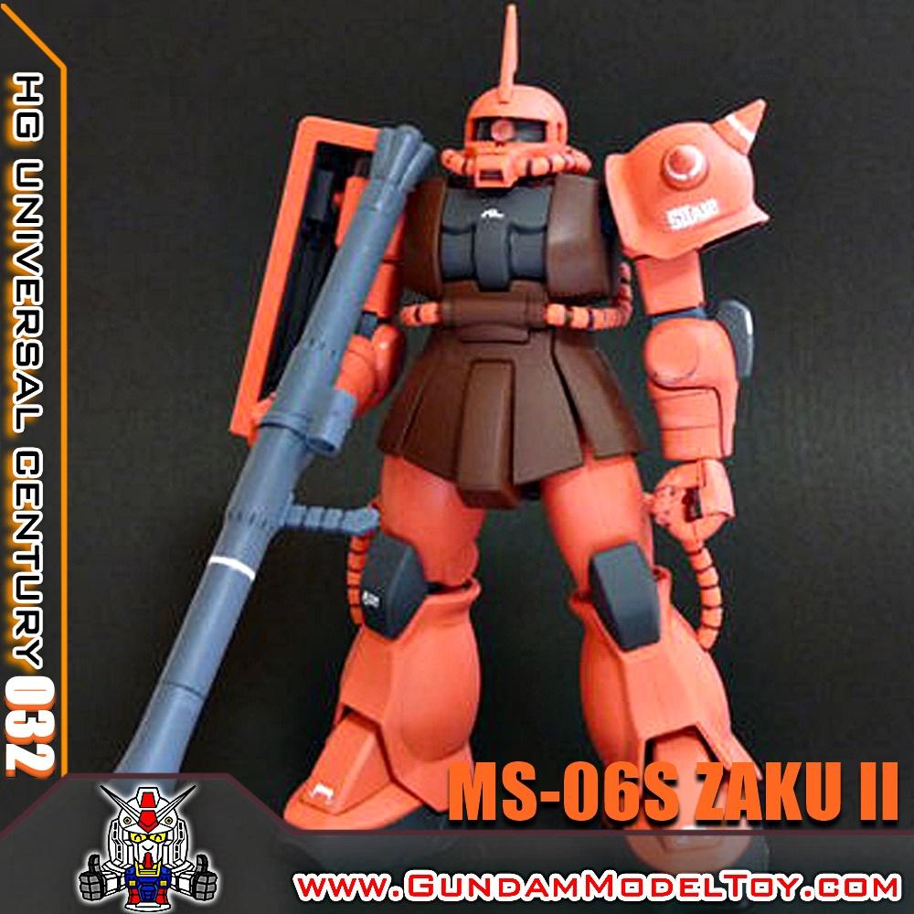 HGUC 1/144 MS-06S ZAKU II ซาคุ II