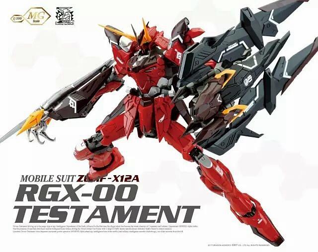 MG 1/100 RGX-00 TESTAMENT