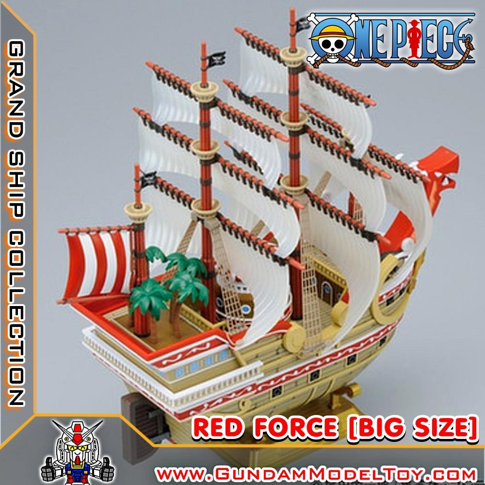 RED FORCE เรด ฟอร์ซ เรือลำใหญ่