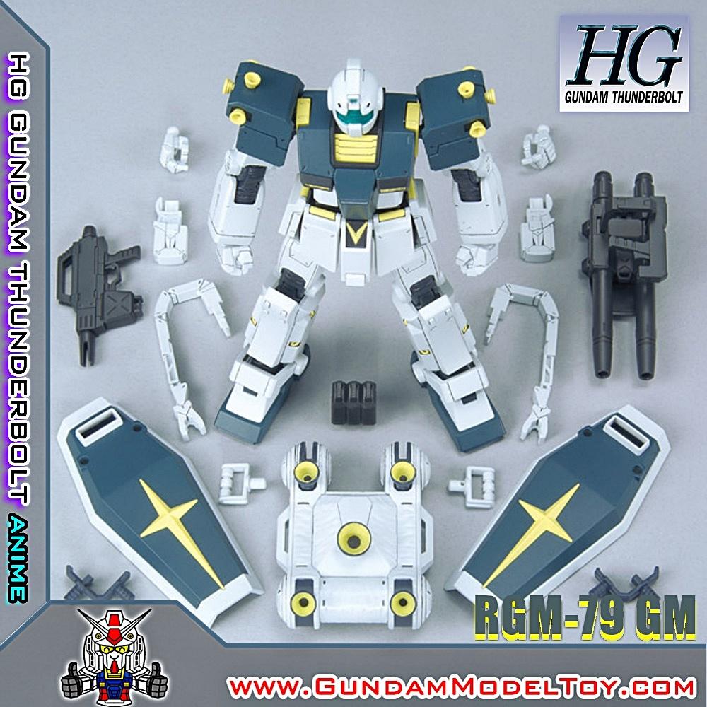 HGTB 1/144 RGM-95 GM [GUNDAM THUNDERBOLT ANIME VER.] จีเอ็ม