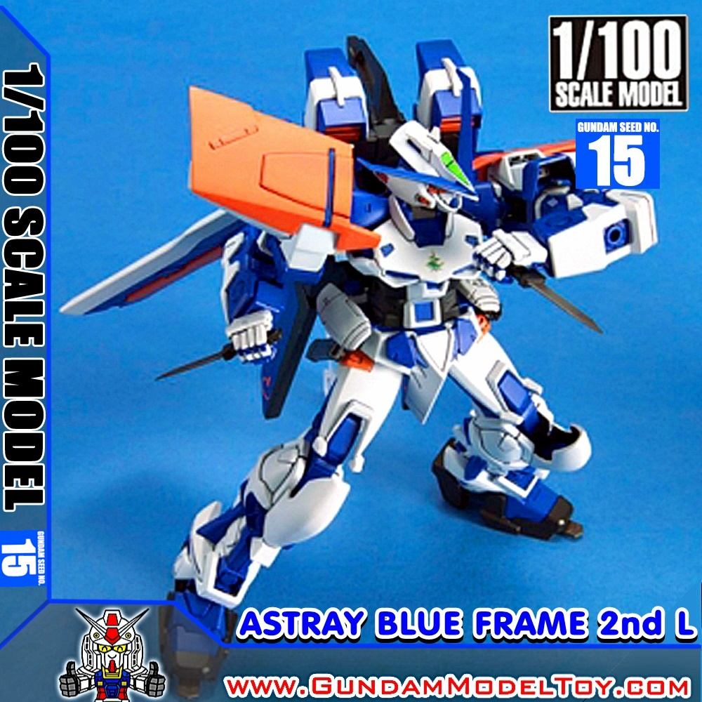 1/100 SCALE MODEL GUNDAM ASTRAY BLUE FRAME SECOND L