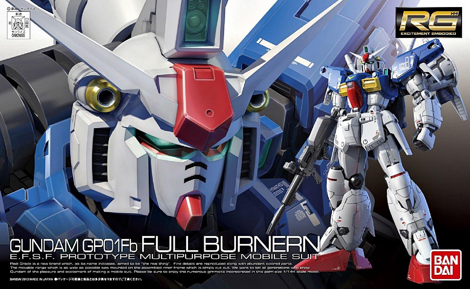 RG GUNDAM GP01Fb FULL BURNERN