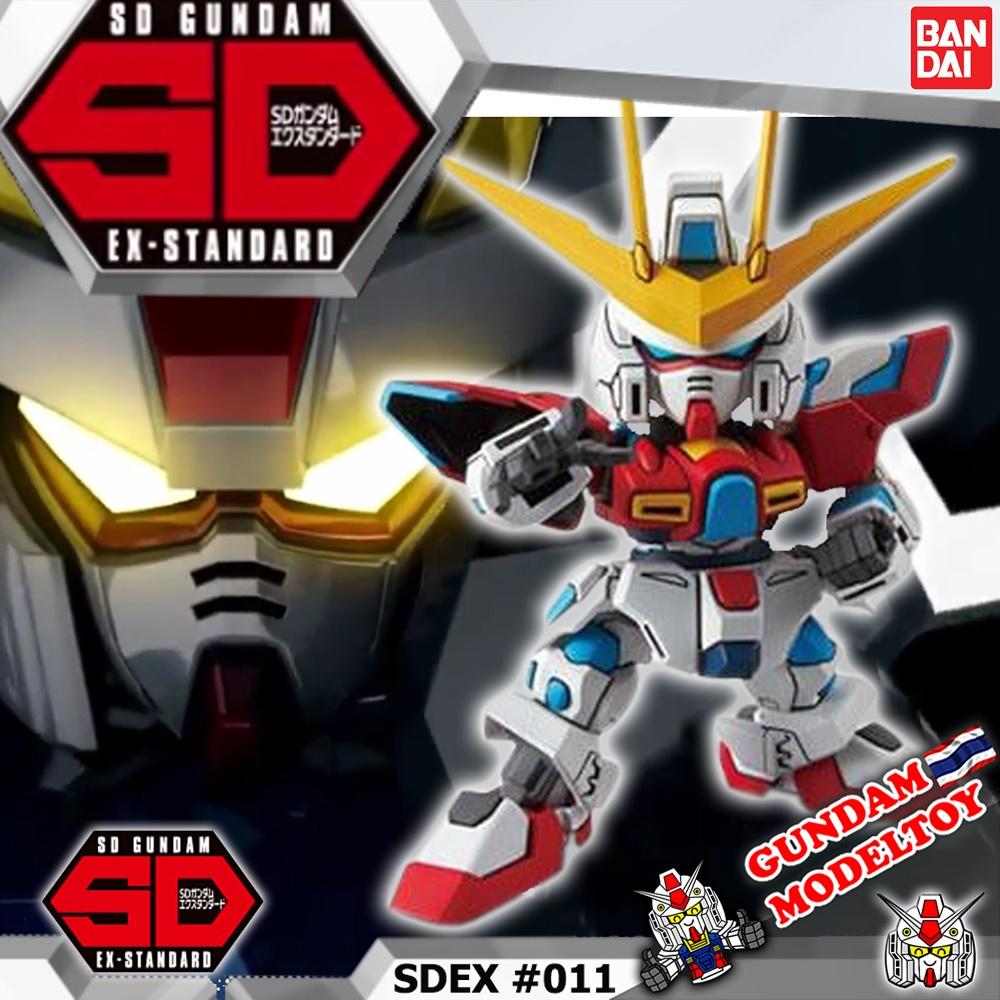 SD EX-STANDARD 011 TRY BURNING GUNDAM เอสดี กันดั้ม เอ็กซ์ สแตนดาร์ด ทราย เบิร์นนิ่ง กันดั้ม