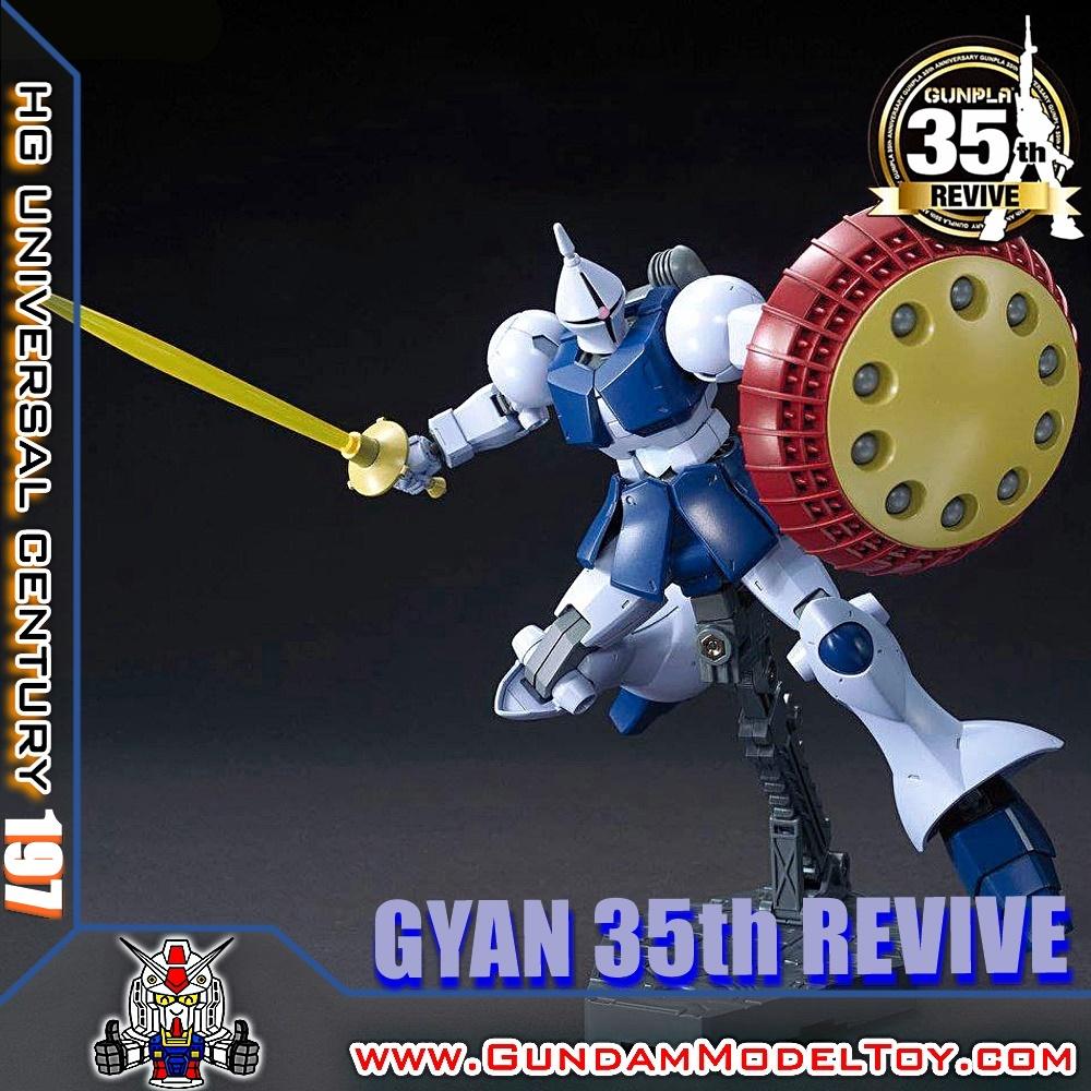 HGUC 1/144 GYAN 35th REVIVE เกียน ฉลอง 35 ปี