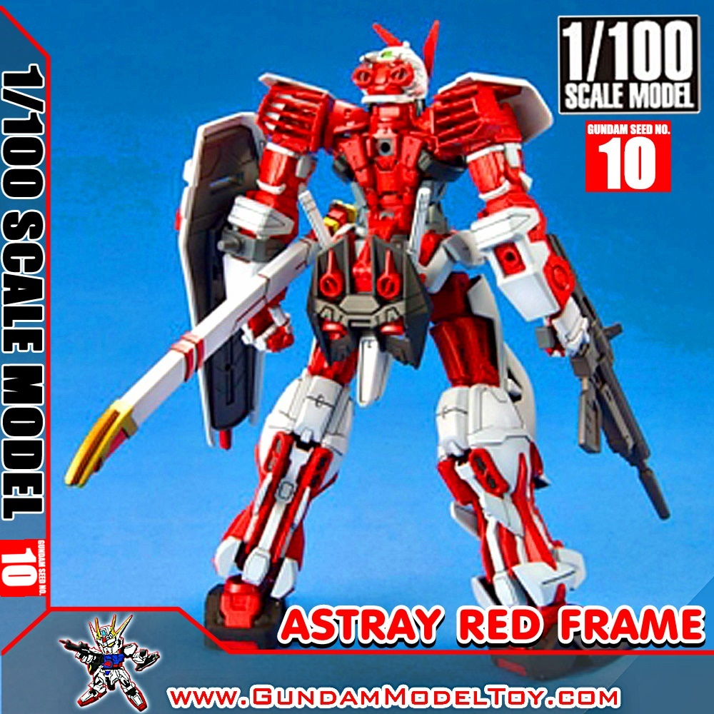 SCALE MODEL GUNDAM ASTRAY RED FRAME