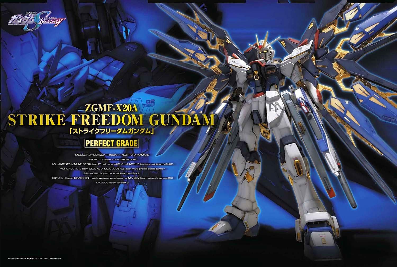 PG 1/60 STRIKE FREEDOM GUNDAM