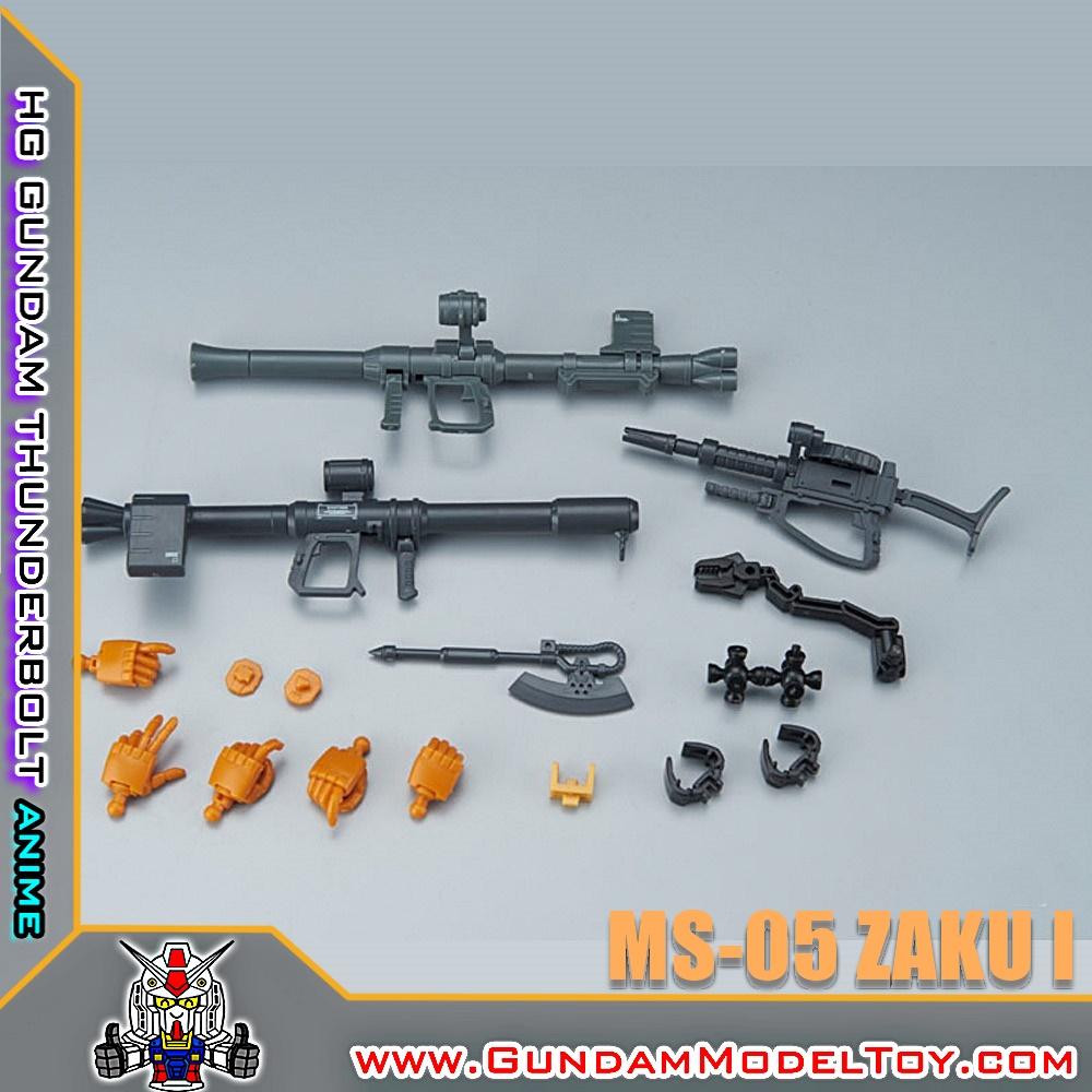HGTB 1/144 MS-05 ZAKU I [GUNDAM THUNDERBOLT ANIME VER.] ซาคุ I