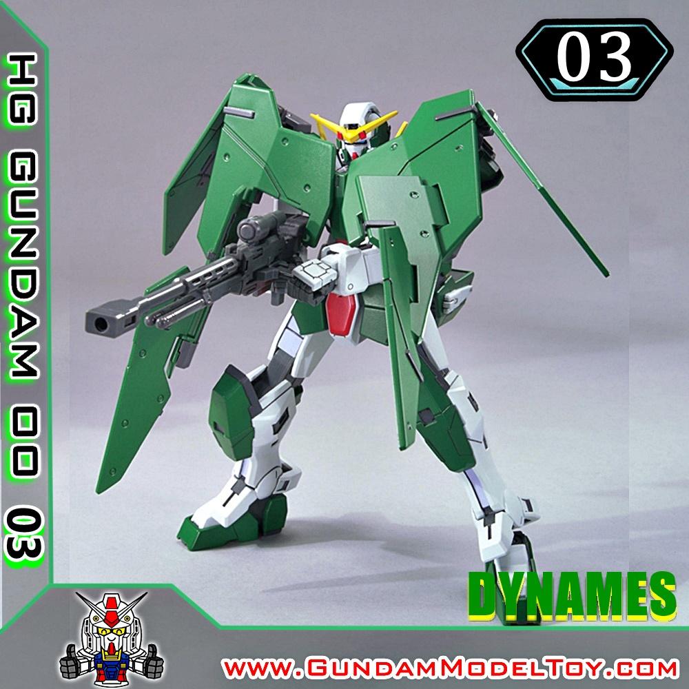 HG00 1/144 GUNDAM DYNAMES กันดั้ม ไดนาเมส