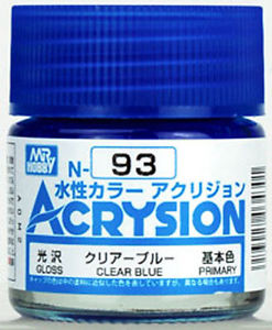 ACRYSION N93 CLEAR BLUE สีฟ้าใส