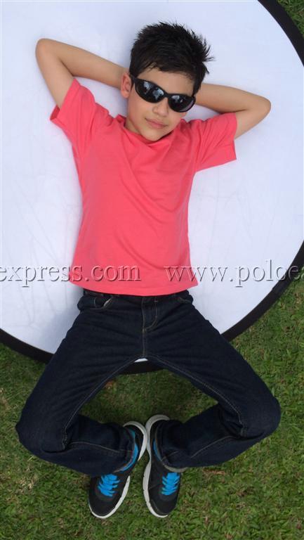 เสื้อยืดเด็ก สีชมพู Sweety คอกลม แขนสั้น Size 2XL สำเนา