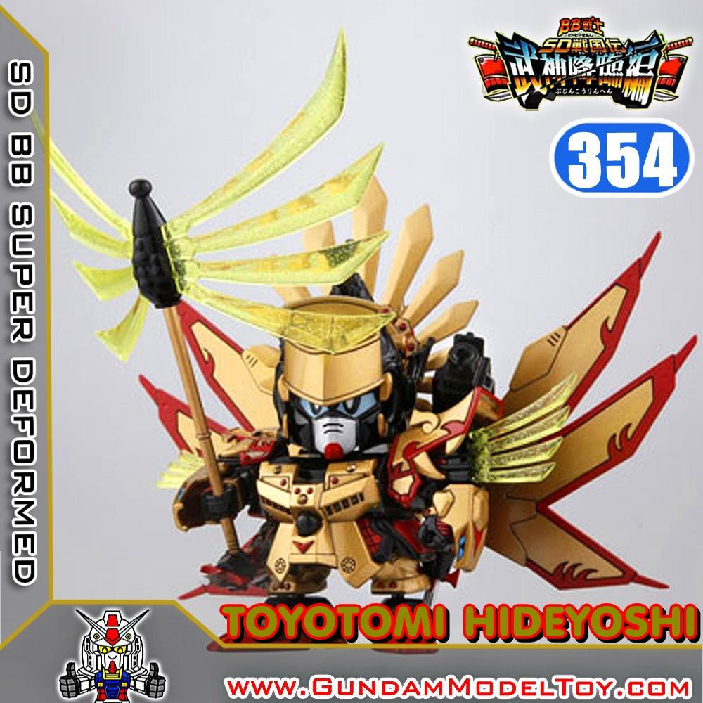 SD BB354 TOYOTOMI HIDEYOSHI GUNDAM โตโยโตมิ ฮิเดโยชิ กันดั้ม