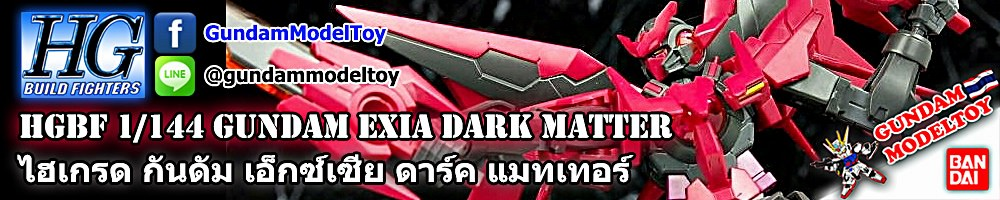 HGBF 1/144 GUNDAM EXIA DARK MATTER กันดั้ม เอ็กซ์เซีย ดาร์ค แมทเทอร์