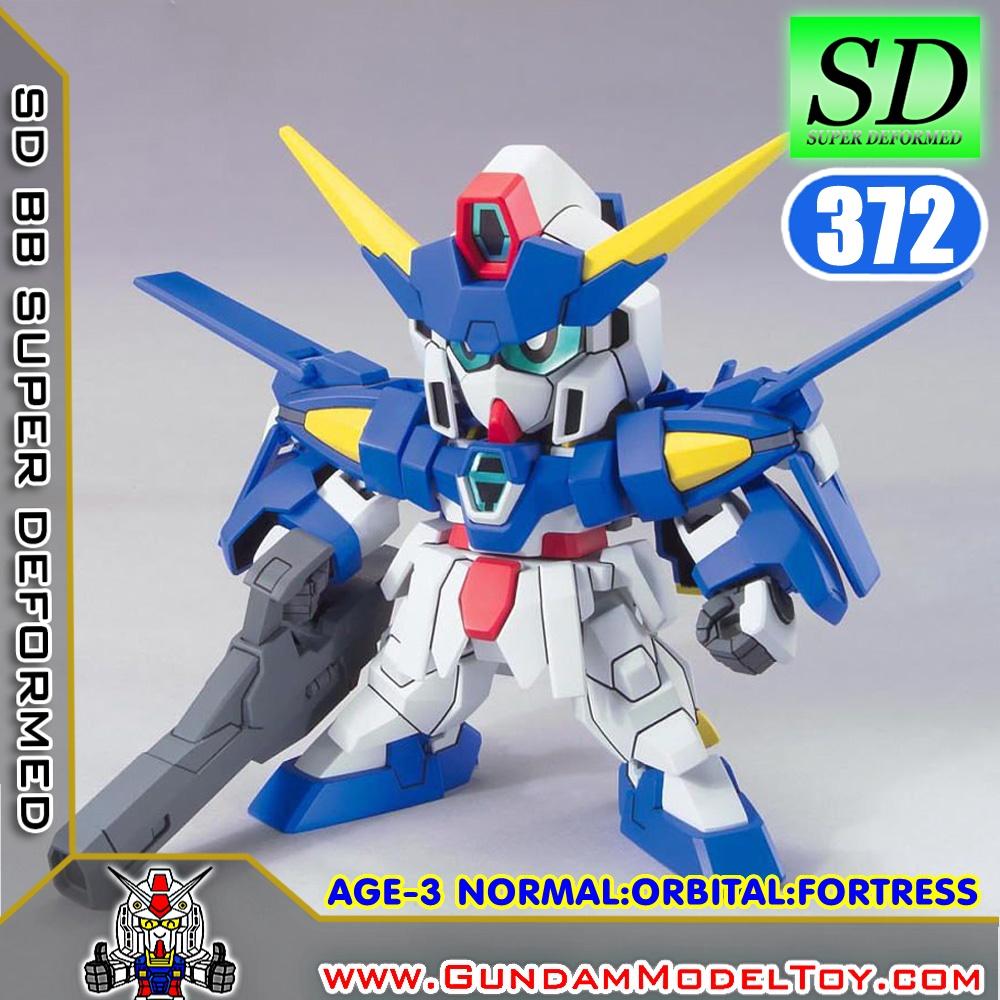SD BB372 GUNDAM AGE-3 [NORMAL,FORTRESS,ORBITAL]