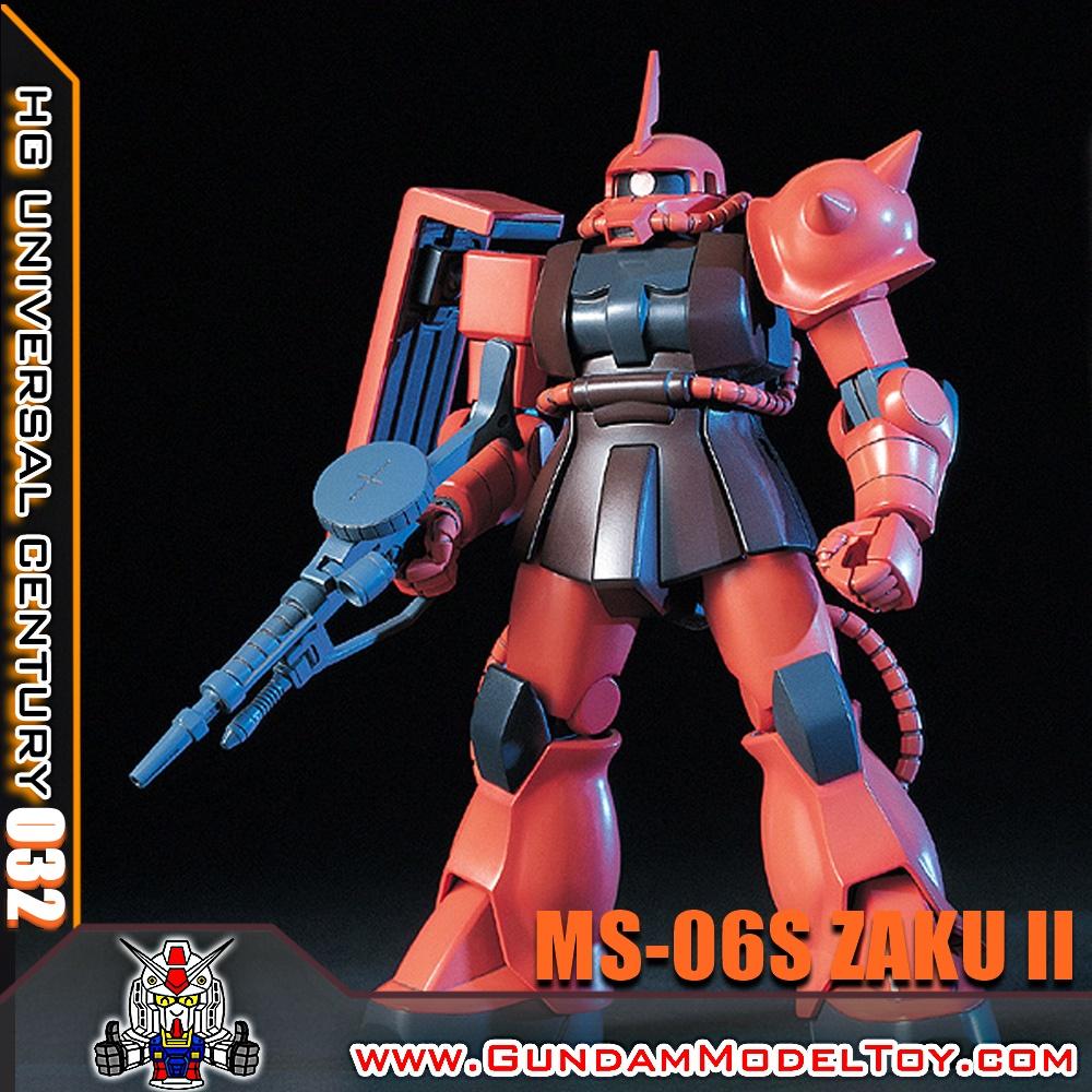 HG 1/144 MS-06S ZAKU II ซาคุ II