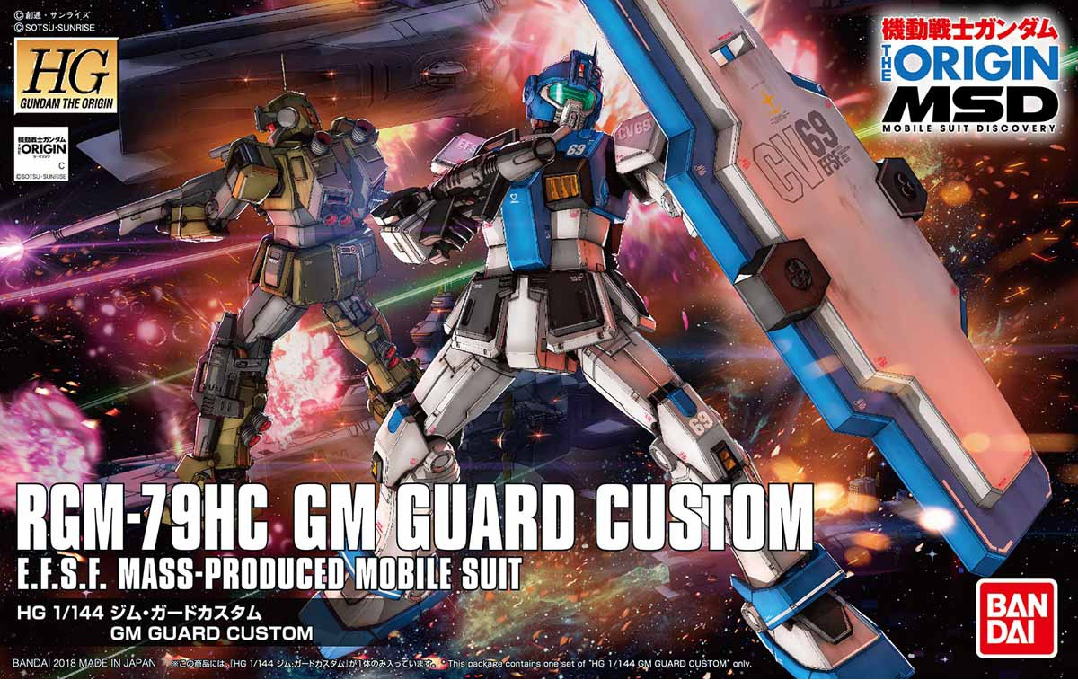 HG GM GUARD CUSTOM