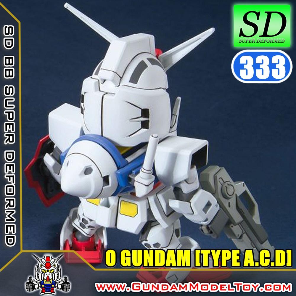 SD BB333 0 GUNDAM [TYPE A.C.D]