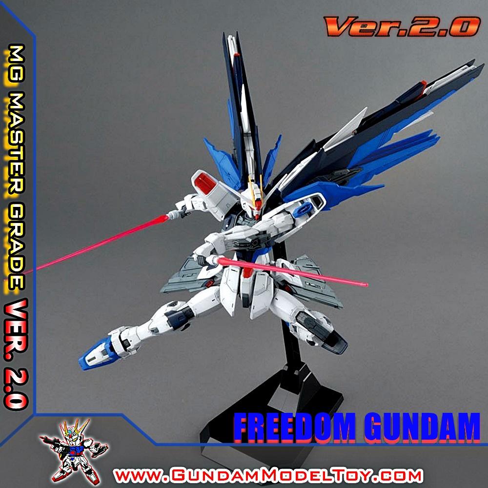 MG 1/100 FREEDOM GUNDAM VER.2.0 ฟรีดอม กันดั้ม เวอร์ชั่น 2.0
