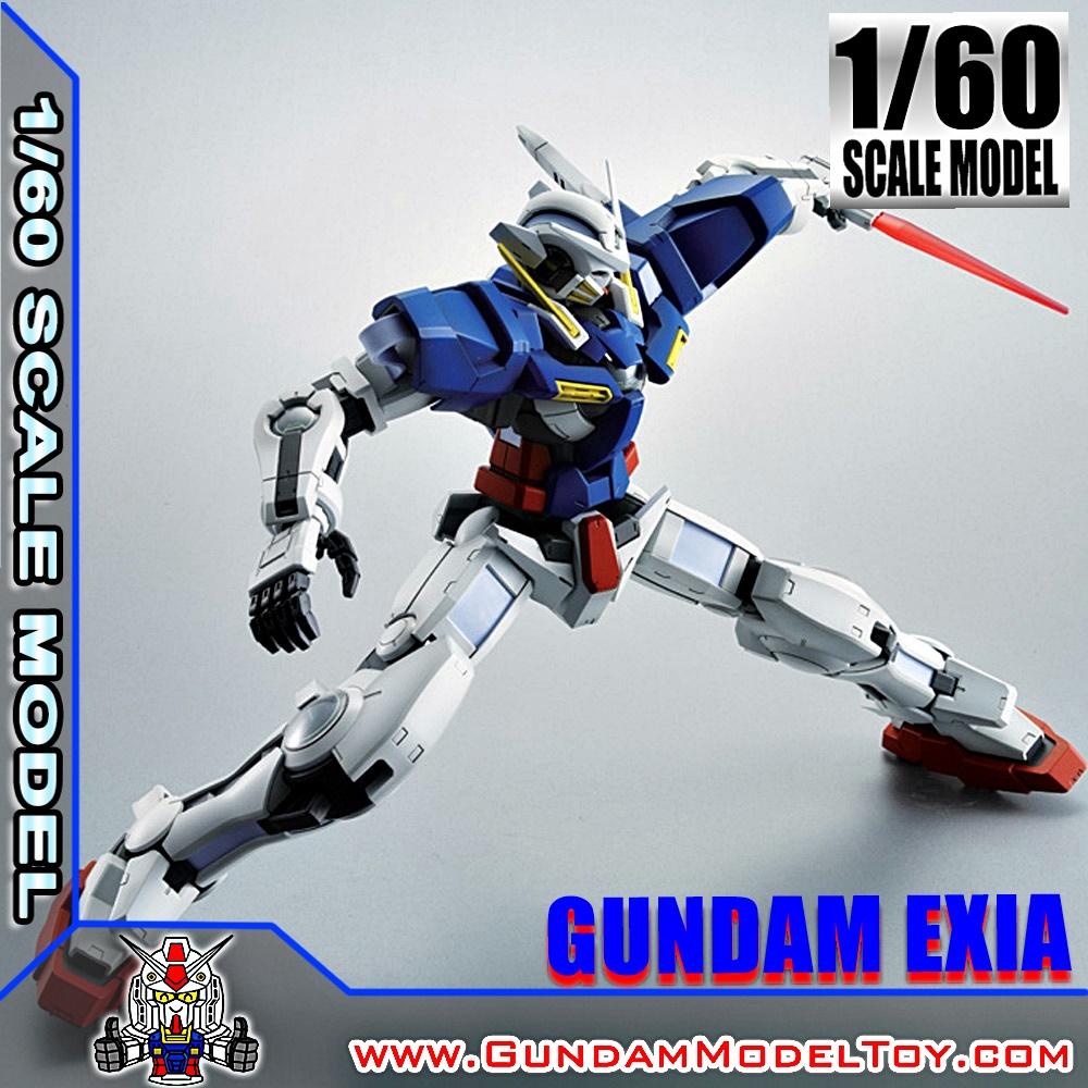 1/60 SCALE MODEL GUNDAM EXIA 1/60 กันดั้ม เอ็กซ์เซีย